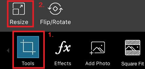 How to increase resolution of an image on android