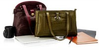 Dress up for work with the classiest leather bags, handbags, satchels and totes from Hidesign, Caprese & more