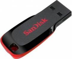 Sandisk Cruzer Blade 32 GB For Rs 807 42% off
