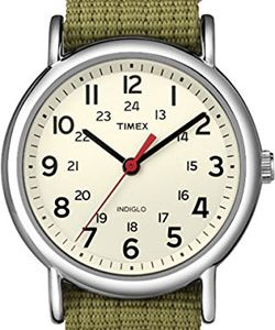 Timex Weekender Indiglo Analog Beige Dial Unisex Watch – T2N651 – 30% off