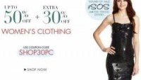 Women's Clothing upto 50% off + Extra 30% off