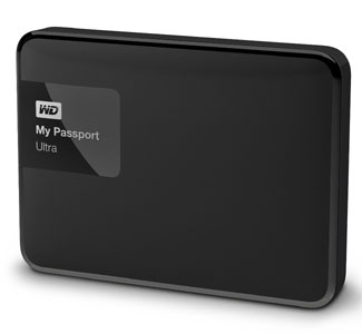 WD My Passport Ultra 2TB USB 3.0 Secure Portable External Hard Drive